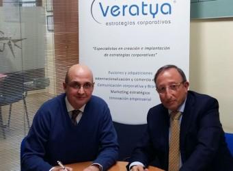 Tomás González Caballero y Javier Gracia Vidal, responsables de Veratya Estrategias Corporativas y Forselec Gestión, respectivamente, han suscrito un acuerdo de colaboración comercial para promover los cursos que del Programa Veratya Training for Managers.